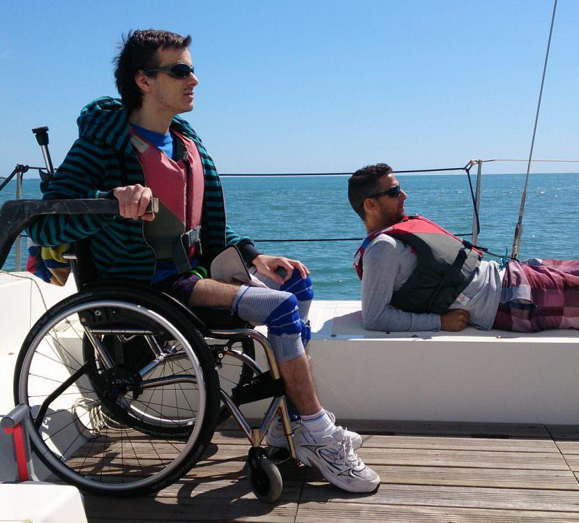 mediterranee voile fauteuil tourisme handicap