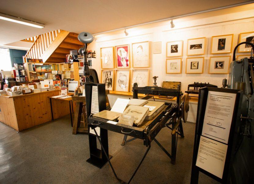 Musée du livre à Montolieu ©Céline Deschamps - ADT Aude