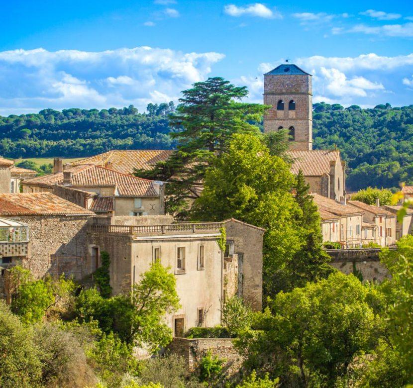 Montolieu, village du livre