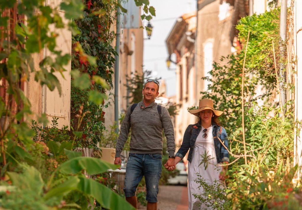 Découvrir le village du livre de Montolieu © Vincent Photographie, ADT de l'Aude