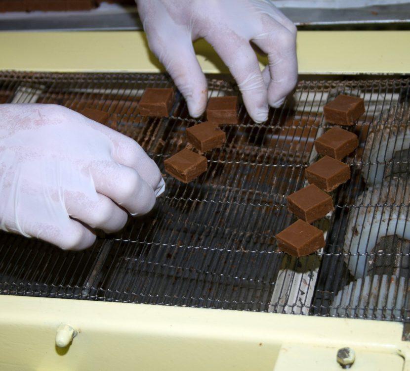 Les Chocolatiers cathares, fabrication, Montredon des Corbières