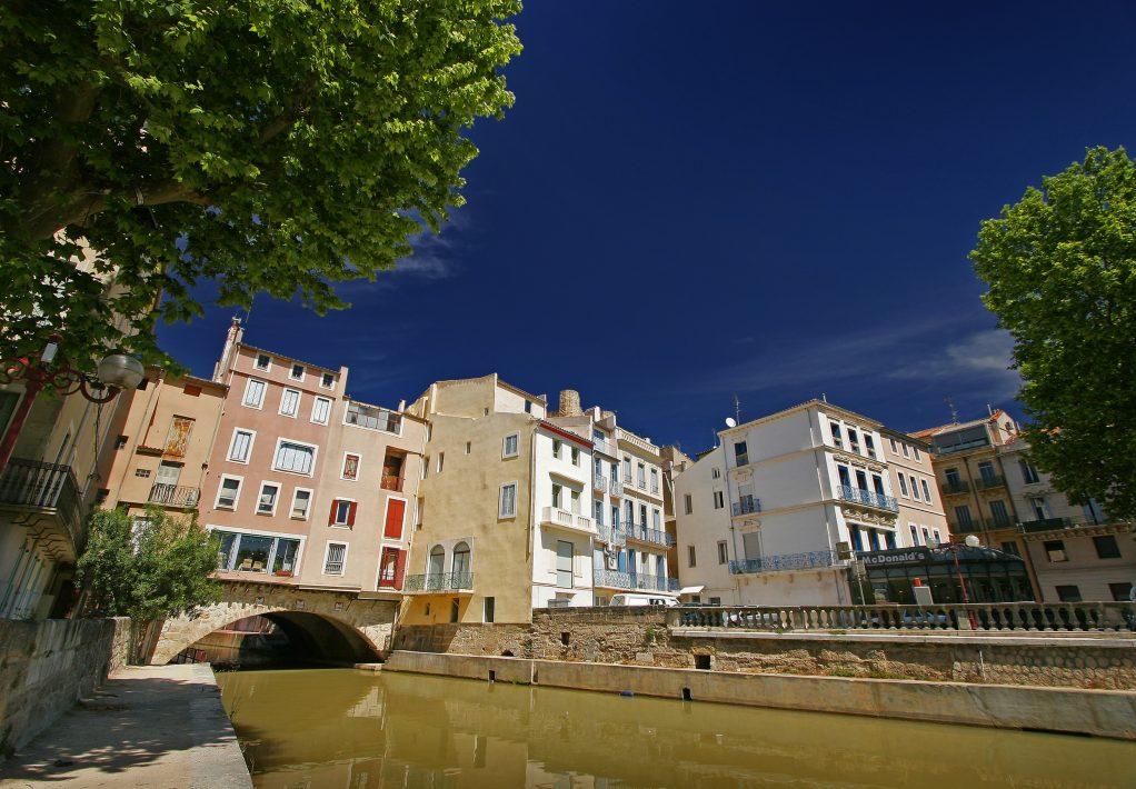Narbonne, pont des marchands