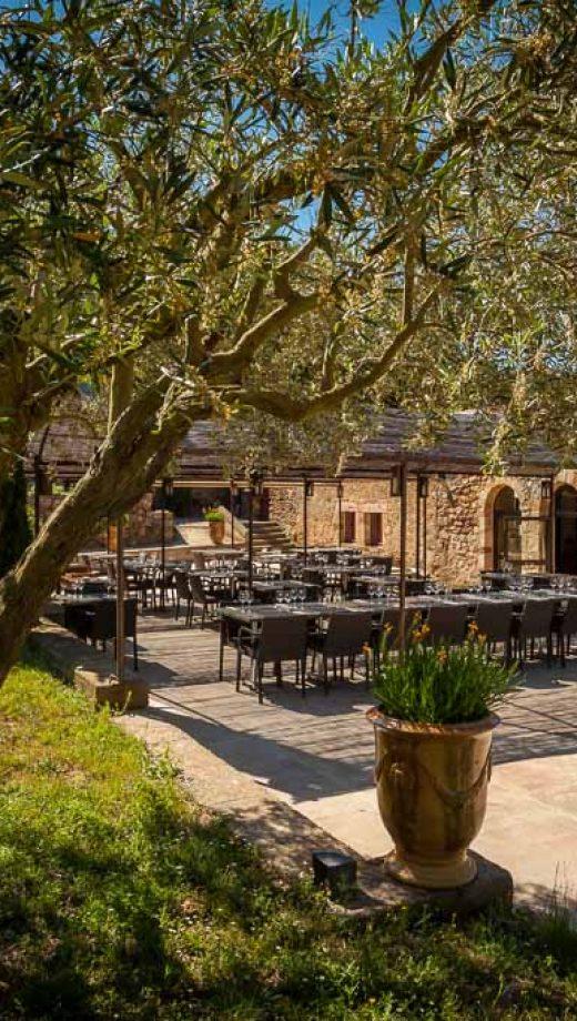 Narbonne, restaurant de l'abbaye de fontfroide