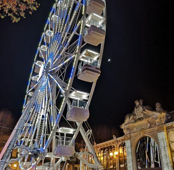 Narbonne, La féérie de Noël, la grande roue