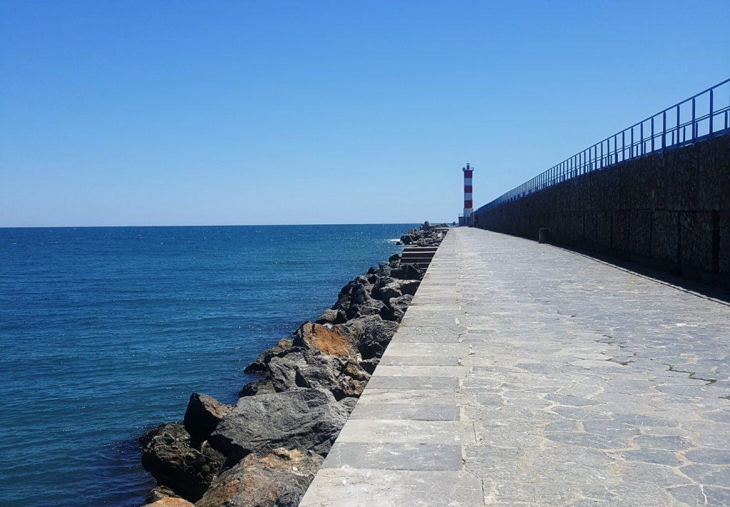 Port-la-Nouvelle, la jetée