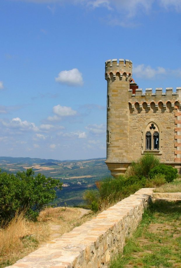 Tour Magdalla dans le domaine de l'abbé Saunière à Rennes le Château © Raphaël Kann