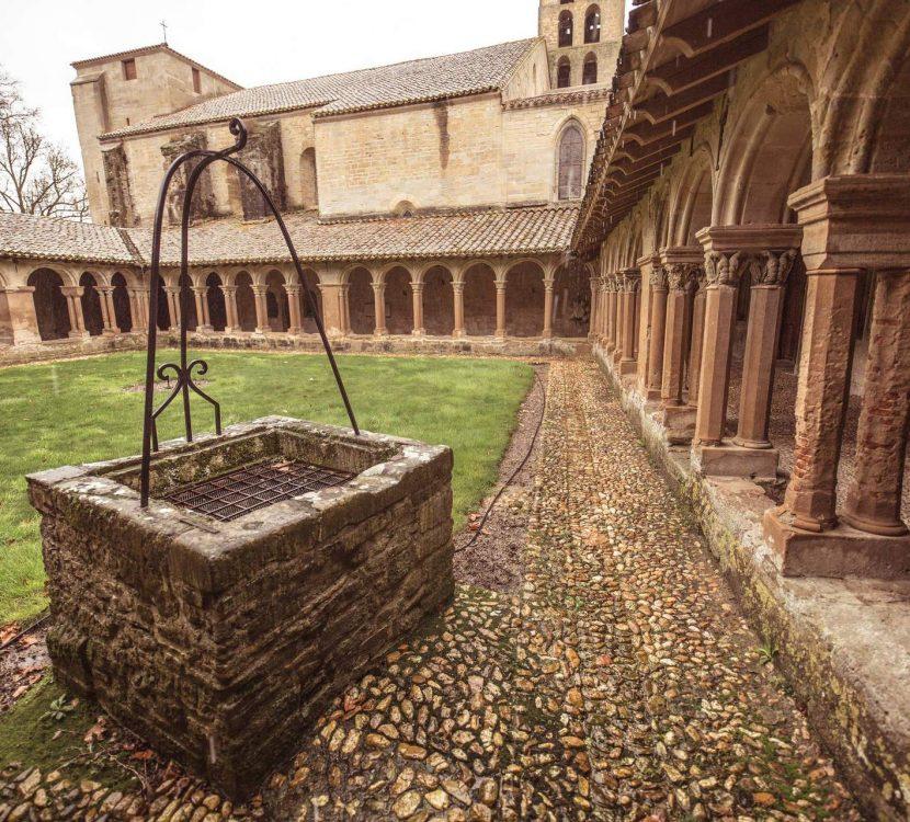 Visite de l'Abbaye Saint-Papoul ©Vincent Photographie