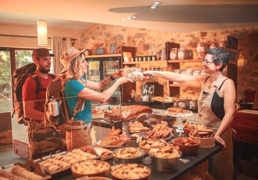 boulangerie sur le Sentier Cathare