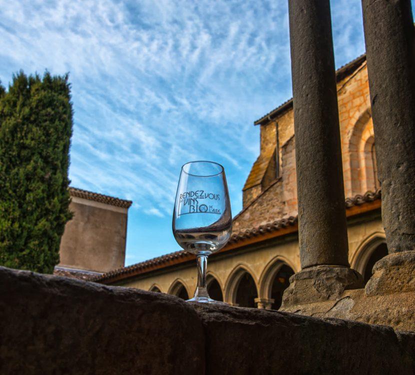 Festival des vins bio, crédit Abbaye de Saint Hilaire