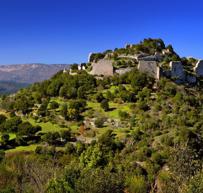 Chateau de Termes. C.Deschamps