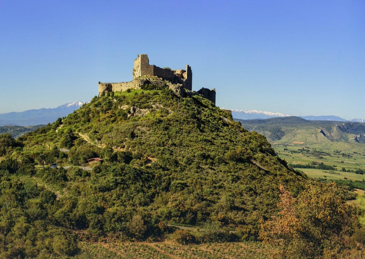 Le château d'Aguilar à Tuchan ©VIncent Photographie