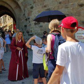Les visites guidées à Carcassonne