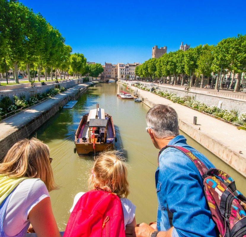 Visiter Narbonne en famille ©Céline Deschamps-ADT de l'Aude